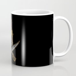 Spartan Warrior | Sparta Greek Fighter Skull Sword Coffee Mug
