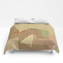 Warm Latte (Flavor in art) Comforters