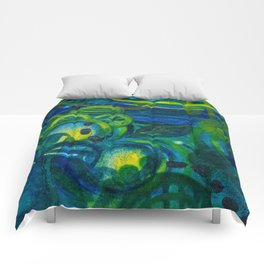 Blue Period Comforters