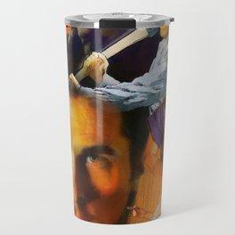 Christian Bale Montage Travel Mug