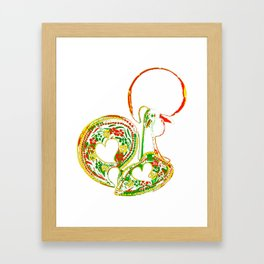 The Rooster Framed Art Print