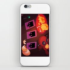 Voodoo table iPhone & iPod Skin