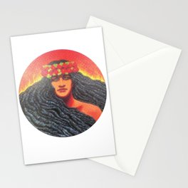 Goddess Pele of Hawaii Stationery Cards