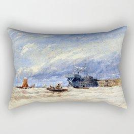David Cox On the Medway Rectangular Pillow