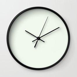 Behr Unwind (Soft Pastel Green) GR-W05 Solid Color Wall Clock