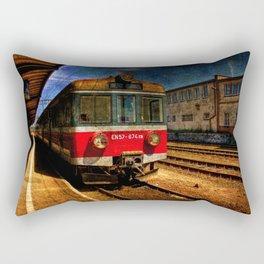 Rusty biznes Rectangular Pillow