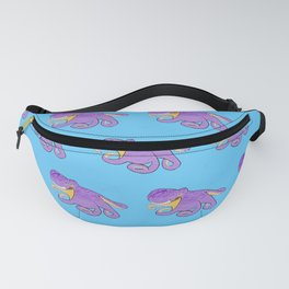 Coconut Octopus Pattern Fanny Pack