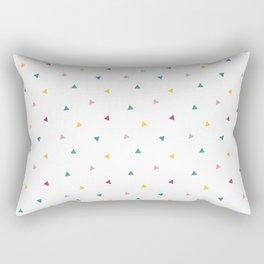 Fresh happy triangels Rectangular Pillow