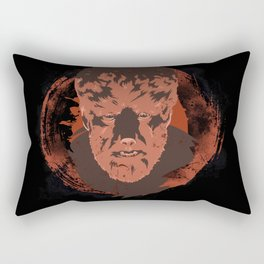 Horror Monster | Wolfman Rectangular Pillow