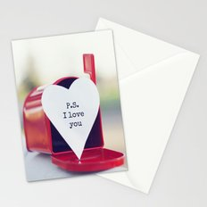 P.S. I love you Stationery Cards