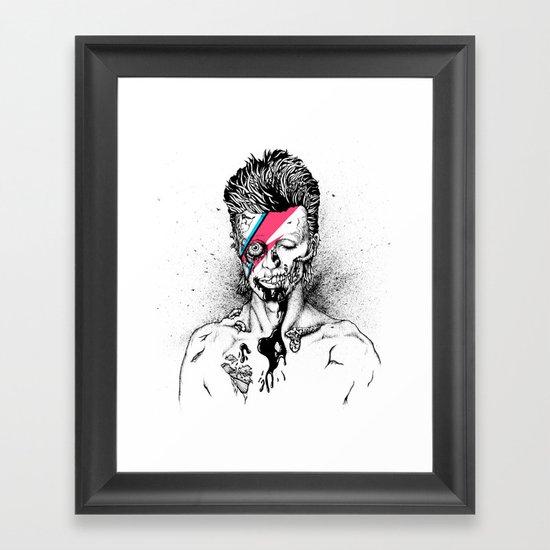 Zombowie Framed Art Print