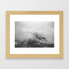 Moody clouds 1 Framed Art Print