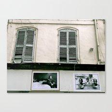 A walk in Marseille Canvas Print
