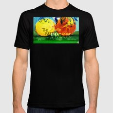 Organic Fruits Black Mens Fitted Tee MEDIUM