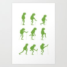Ministry of Silly Muppet Walks (UPDATED) Art Print