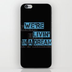 We are living in a dream iPhone & iPod Skin