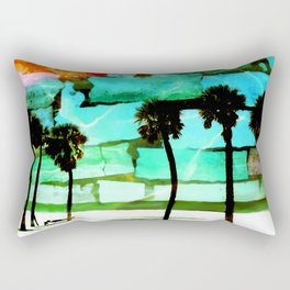 Florida Beach Rectangular Pillow