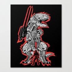 Metal Gear T.REX Canvas Print