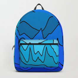 Beats Of Blue Backpack
