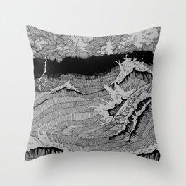 Dagon Throw Pillow