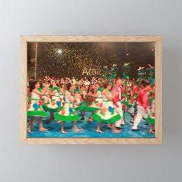 Sao Joao da Vila festival Framed Mini Art Print