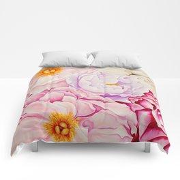 L'amour des Fleurs Comforters