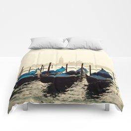 Gondolas in Color Comforters