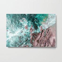 Lagos, Algarve, Portugal. Landscape Print, Aerial Photography, Beach Print, Drone Photography, Ocean Metal Print