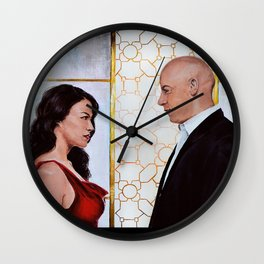 Dominiс and Letty Wall Clock