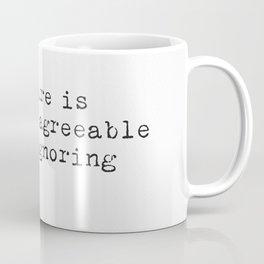 Fernando Pessoa quote Coffee Mug