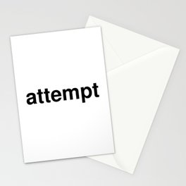 attempt Stationery Cards