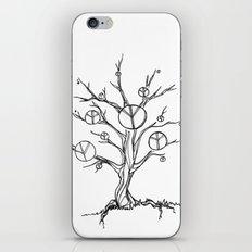 Peace Tree iPhone & iPod Skin