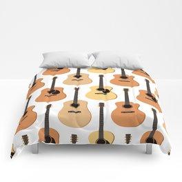 Acoustic Guitars Pattern Comforters