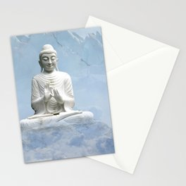 Buddha in Clouds Stationery Cards
