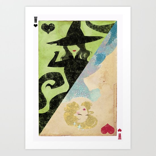 Wicked Art Print