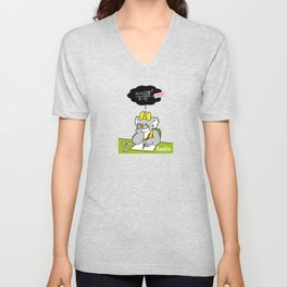 Koalita at school Unisex V-Neck