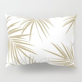 Palm Leaves Cali Finesse #2 #gold #tropical #decor #art #society6 Pillow Sham