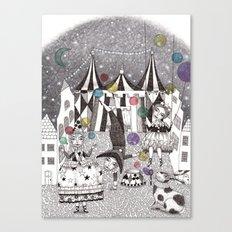 Night Carnival Canvas Print