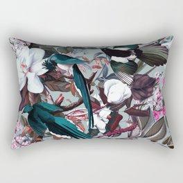 Floral and Birds XXIV Rectangular Pillow
