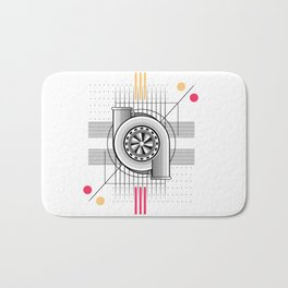 Turbo engine Bath Mat