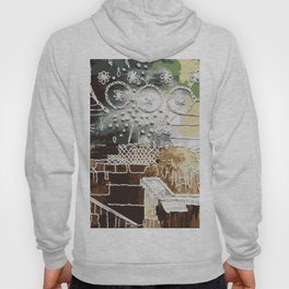 Embroidered Landscape Hoody