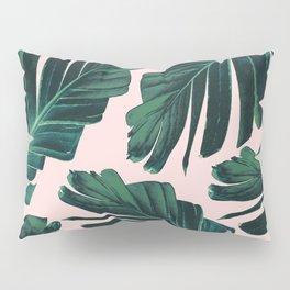 Tropical Blush Banana Leaves Dream #1 #decor #art #society6 Pillow Sham