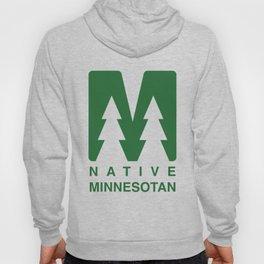 Native Minnesotan Graphic Hoody
