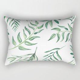 Floating Leaves #society6 #buyart Rectangular Pillow