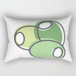 Greek Olives Rectangular Pillow