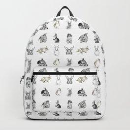 Vintage Bunny Rabbit Pattern Backpack