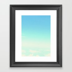 There's something in the cotton Framed Art Print