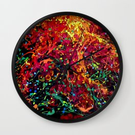 Flamboyan Wall Clock