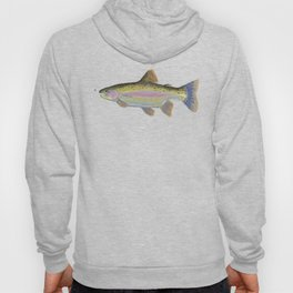 Rainbow Trout & Fly Hoody