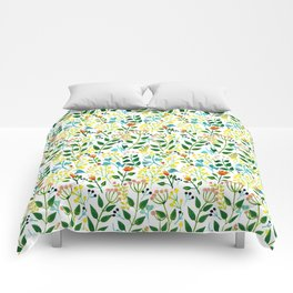 All you need is fLOVErs Comforters